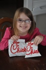 Chick-fil-A lunch at home