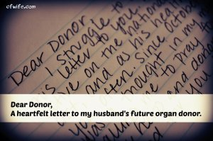 Dear Donor