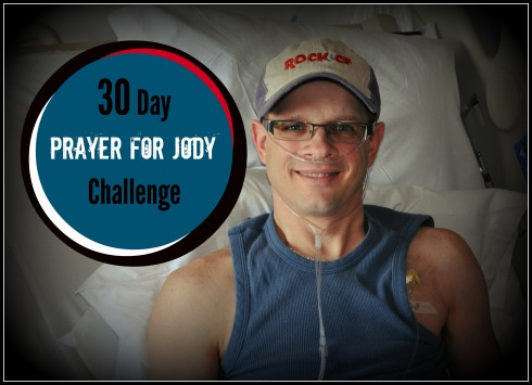 Prayer for Jody Challenge