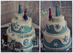 "Tabitha's ""Frozen"" Cake"