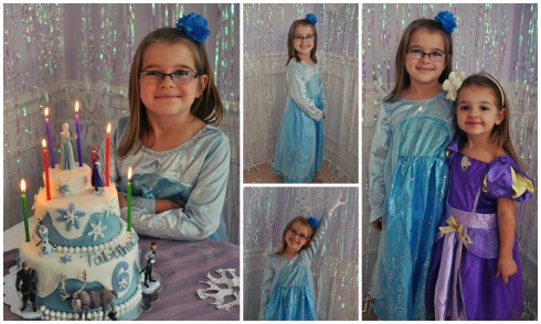 6th Birthday, Ice princess, Tabitha.