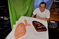 1st Breathday cake